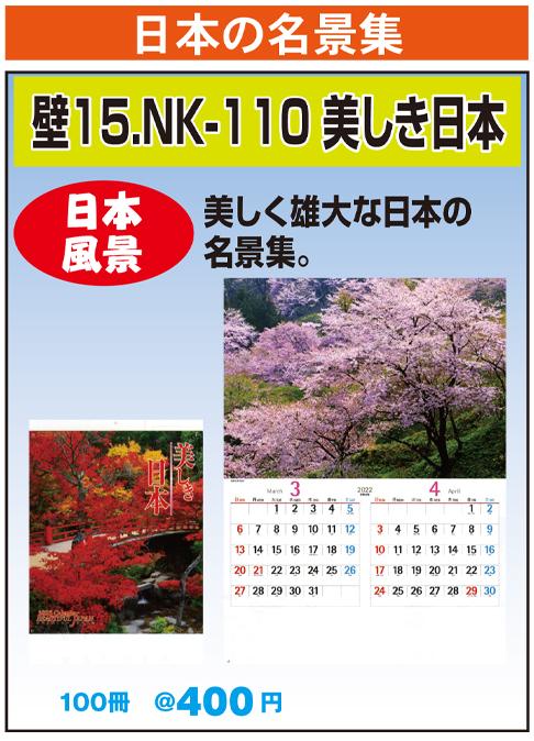 壁15.NK-110 美しき日本